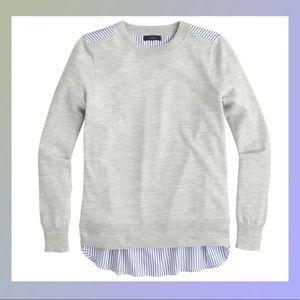 J Crew Oversized XXS Wool Sweater